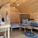 Glamping front room