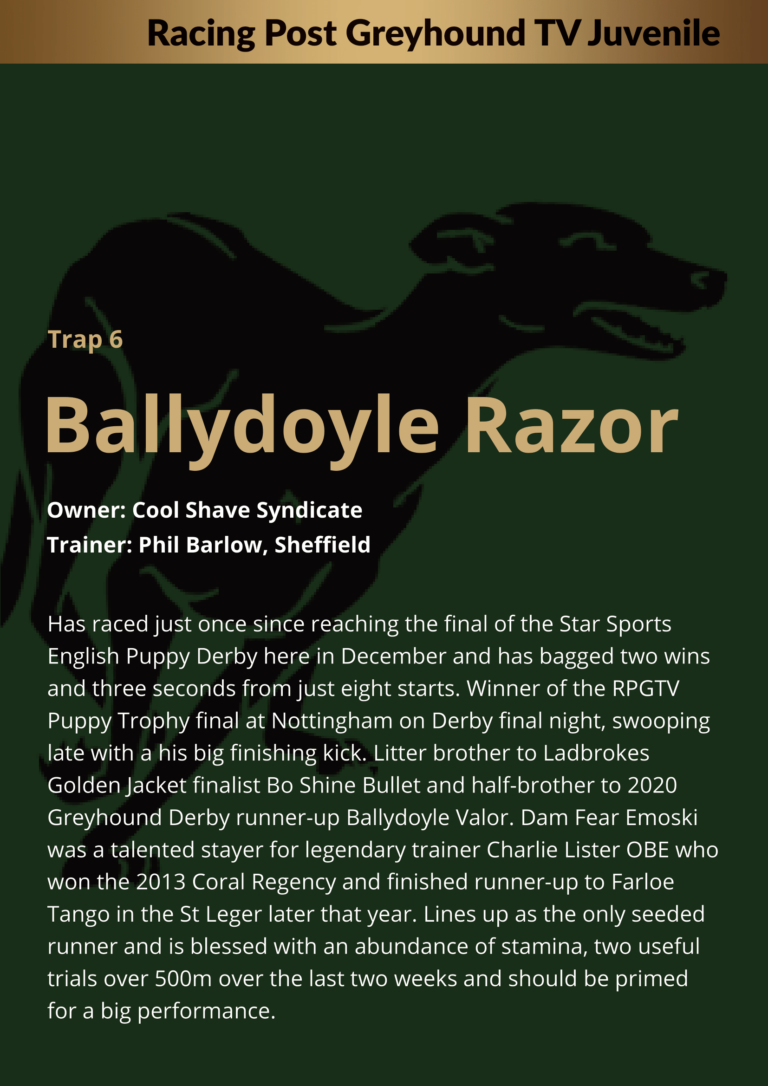 Racecard Tuesday 20th April 2021 (no local officials)-21