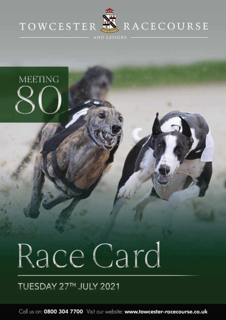 Racecard Meeting 80 Tuesday 27th July 2021-01