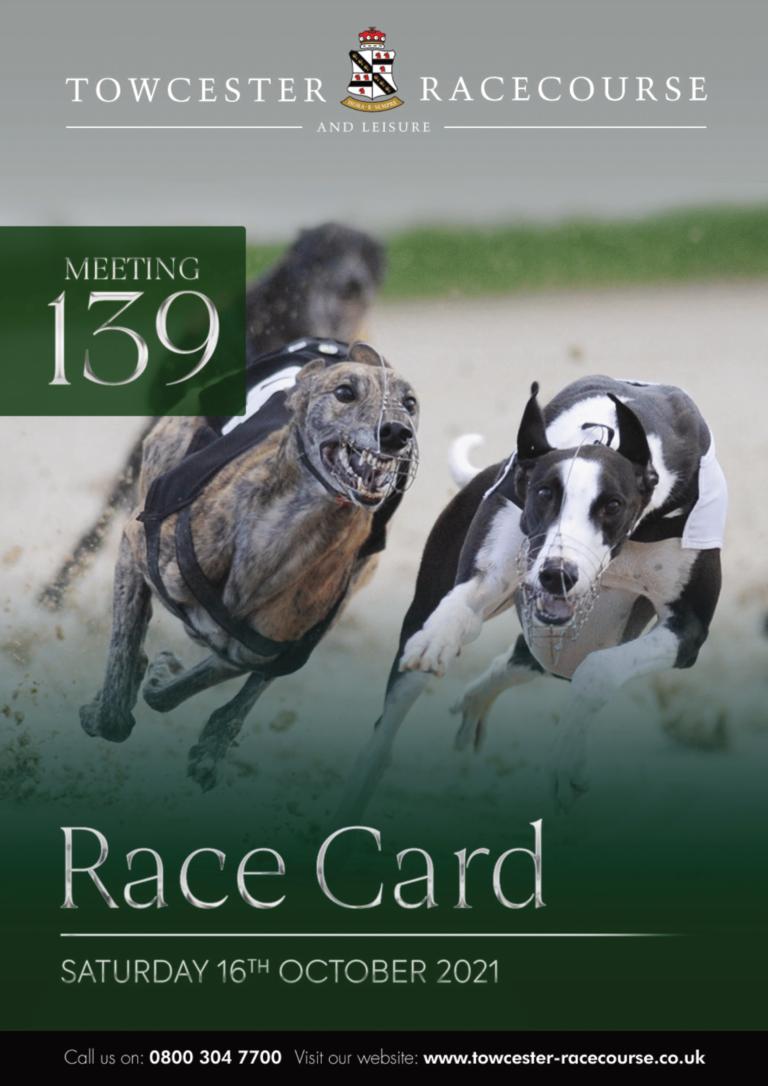 Racecard Meeting 139 Saturday 16th October 2021-01